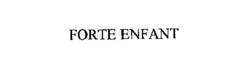 FORTE ENFANT