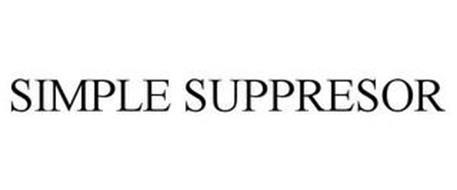 SIMPLE SUPPRESSOR