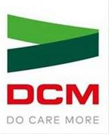 DCM DO CARE MORE