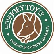 · LITTLE JOEY TOY CO. · DESIGNED IN CANBERRA AUSTRALIA