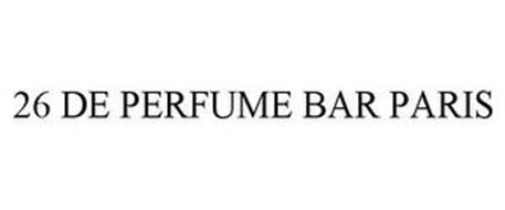 26 DE PERFUME BAR PARIS