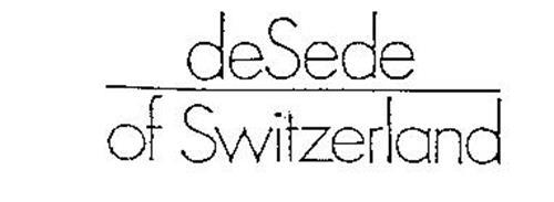 DESEDE OF SWITZERLAND