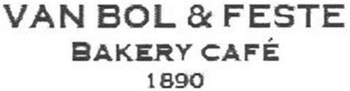 VAN BOL & FESTE BAKERY CAFÉ 1890