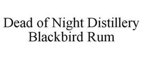 DEAD OF NIGHT DISTILLERY BLACKBIRD RUM