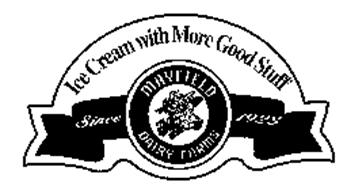 ICE CREAM WITH MORE GOOD STUFF MAYFIELDDAIRY FARMS SINCE 1923