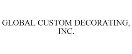 GLOBAL CUSTOM DECORATING, INC.