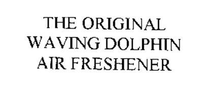 THE ORIGINAL WAVING DOLPHIN AIR FRESHENER
