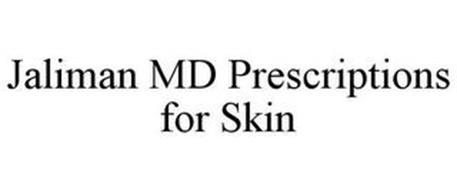 JALIMAN MD PRESCRIPTIONS FOR SKIN