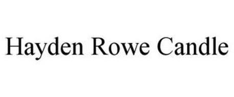HAYDEN ROWE CANDLE
