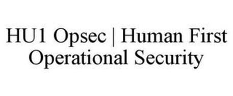 HU1 OPSEC | HUMAN FIRST OPERATIONAL SECURITY