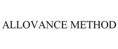 ALLOVANCE METHOD