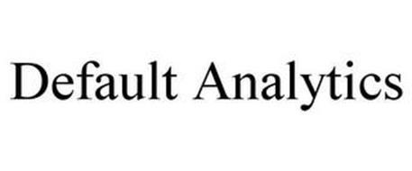 DEFAULT ANALYTICS