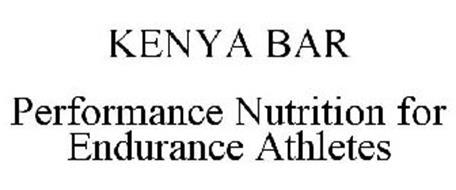 KENYA BAR PERFORMANCE NUTRITION FOR ENDURANCE ATHLETES