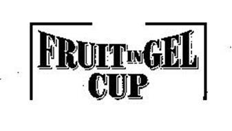 FRUIT IN GEL CUP