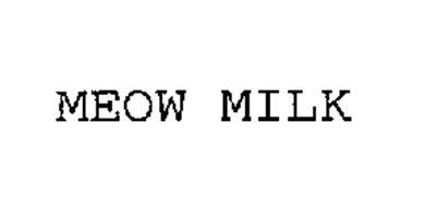 MEOW MILK