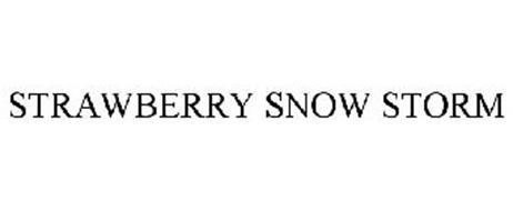 STRAWBERRY SNOW STORM