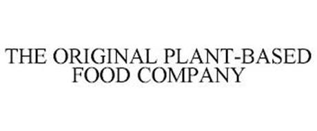 THE ORIGINAL PLANT-BASED FOOD COMPANY
