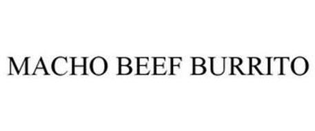 MACHO BEEF BURRITO