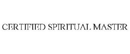 CERTIFIED SPIRITUAL MASTER