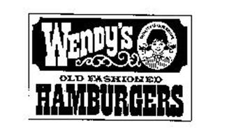 WENDY'S OLD FASHIONED HAMBURGERS QUALITY IS OUR RECIPE Trademark of ...