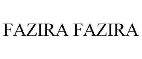 FAZIRA FAZIRA