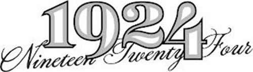 1924 NINETEEN TWENTY FOUR