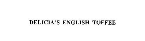 DELICIA'S ENGLISH TOFFEE