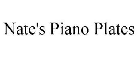 NATE'S PIANO PLATES