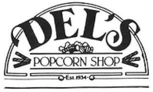 DEL'S POPCORN SHOP EST. 1934