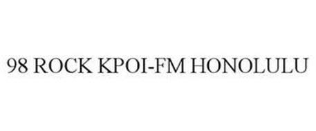 98 ROCK KPOI-FM HONOLULU