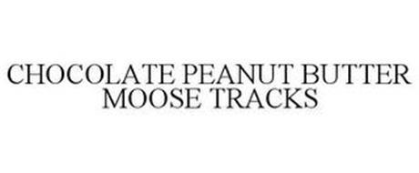 CHOCOLATE PEANUT BUTTER MOOSE TRACKS