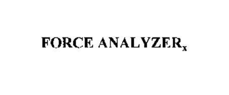 FORCE ANALYZERX