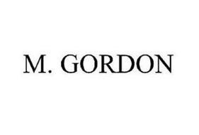 M.GORDON