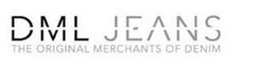 DML JEANS THE ORIGINAL MERCHANTS OF DENIM