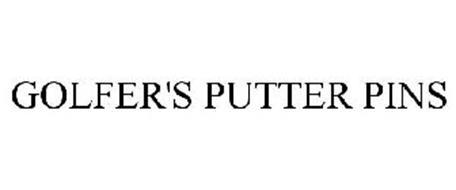 GOLFER'S PUTTER PINS