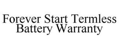 FOREVER START TERMLESS BATTERY WARRANTY
