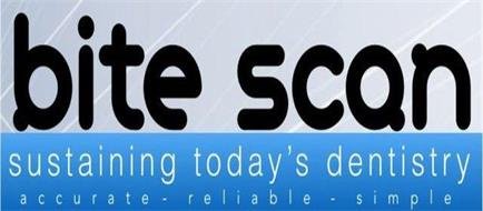 BITESCAN SUSTAINING TODAY'S DENSTISTY IN ACCURATE · RELIABLE · SIMPLE
