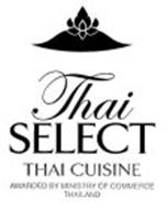THAI SELECT THAI CUISINE AWARDED BY MINISTRY OF COMMERCE THAILAND