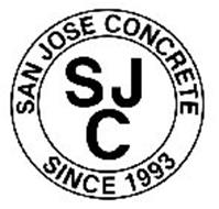SJC SAN JOSE CONCRETE SINCE 1993