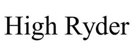 HIGH RYDER