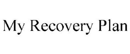MY RECOVERY PLAN