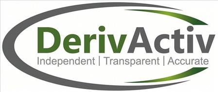 DERIVACTIV INDEPENDENT TRANSPARENT ACCURATE