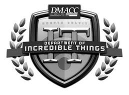 DMACC DES MOINES AREA COMMUNITY COLLEGEADEPTO SOLVIT IT DEPARMENT OF INCREDIBLE THINGS
