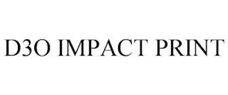 D3O IMPACT PRINT