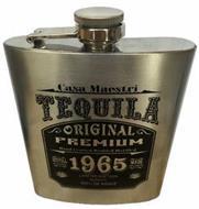 CASA MAESTRI TEQUILA ORIGINAL PREMIUM HAND CRAFTED DOUBLED DISTILLED 1965