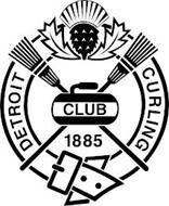 DETROIT CURLING CLUB 1885