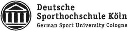 DEUTSCHE SPORTHOCHSCHULE KÖLN GERMAN SPORT UNIVERSITY COLOGNE