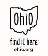 OHIO FIND IT HERE: OHIO.ORG