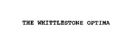 THE WHITTLESTONE OPTIMA
