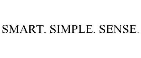 SMART. SIMPLE. SENSE.